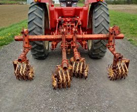 Allis-Chalmers bineuse 2 rangs