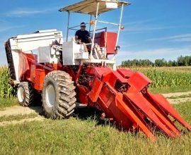Récolteuse de maïs sucré 4WD