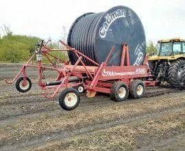 Cadman 4500 Wide Body irrigation traveller