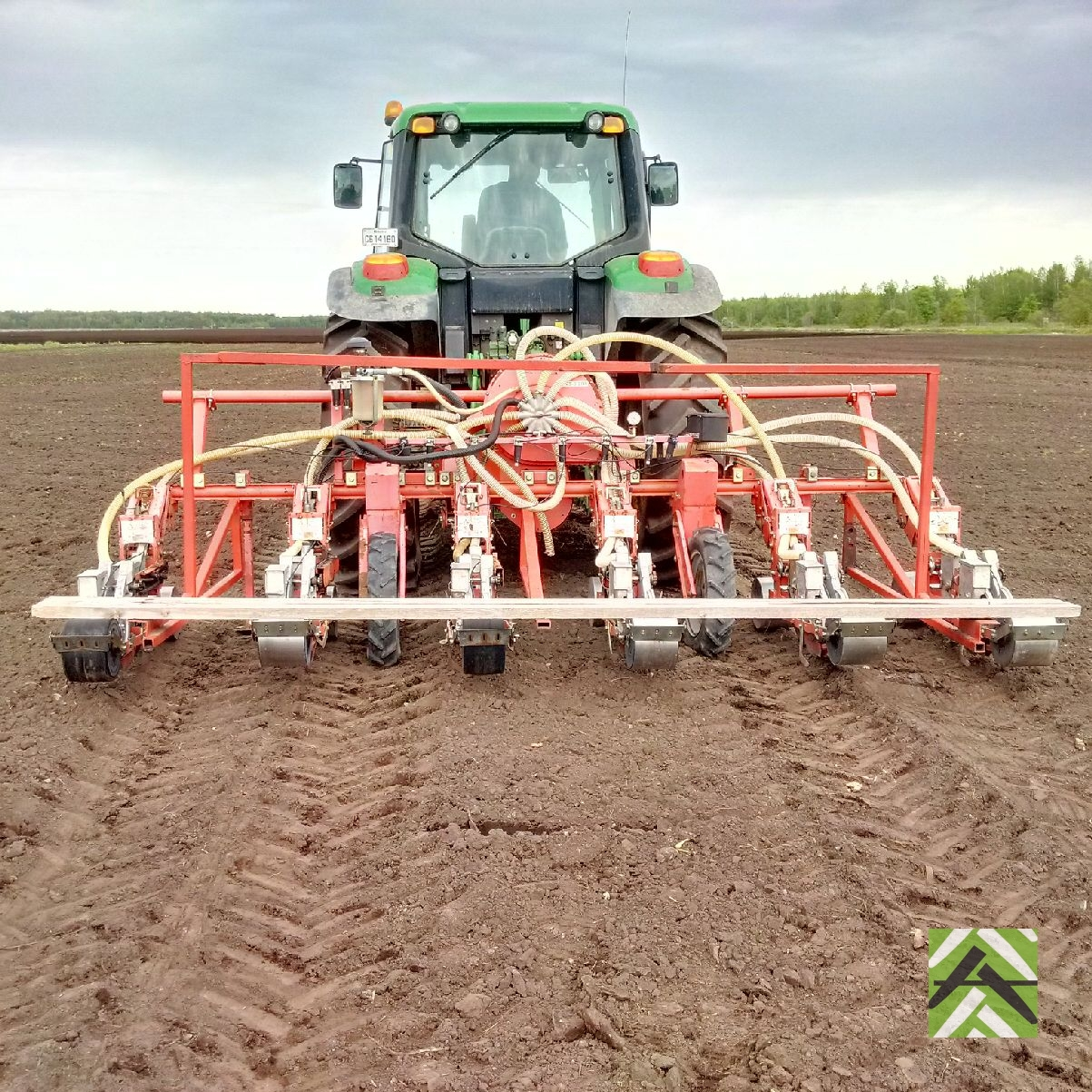 Agricola Air Planter For Carrot Agricor