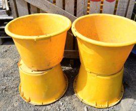 Lot de paniers 1 bushel ou 35 litres ou 25 kg