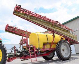 Gregson sprayer 1200 gallons