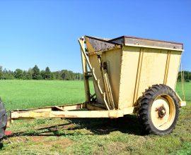 Remorque side dump 5,5 tonnes (#2)