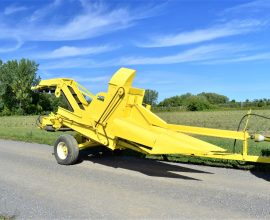 Pixall sweet corn harvester
