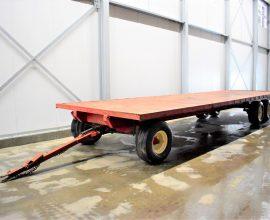 Remorque Horst 30 pieds 14 tonnes