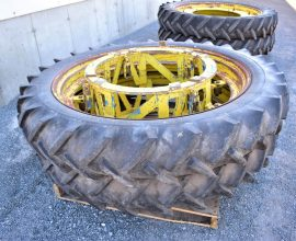 Ensemble de roues (4) 11.2-48 Michelin Bibagrip