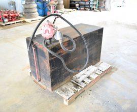 Réservoir diesel pompe manuelle