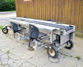 Table de triage sur roues
