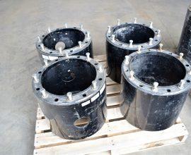 Espaceurs (2) de roues pour CaseIH 125-145 (#2)
