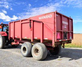 Remorque Normand, modèle 3016, 15 tonnes